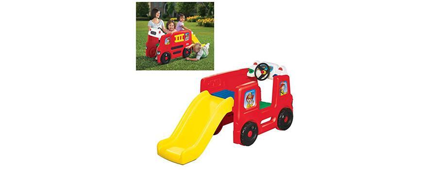 Little Tikes Activity Gym Brandweerwagen Met Glijbaan