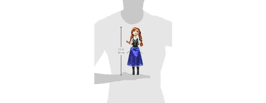 Hasbro Poupée Disney 30 Cm Anna Pierres Précieuses La Reine Des Neiges