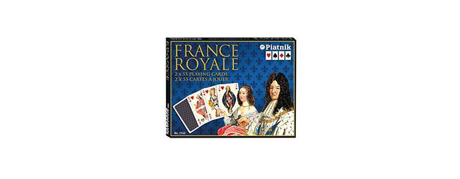 Piatnik Jeu De Cartes France Royale 2142